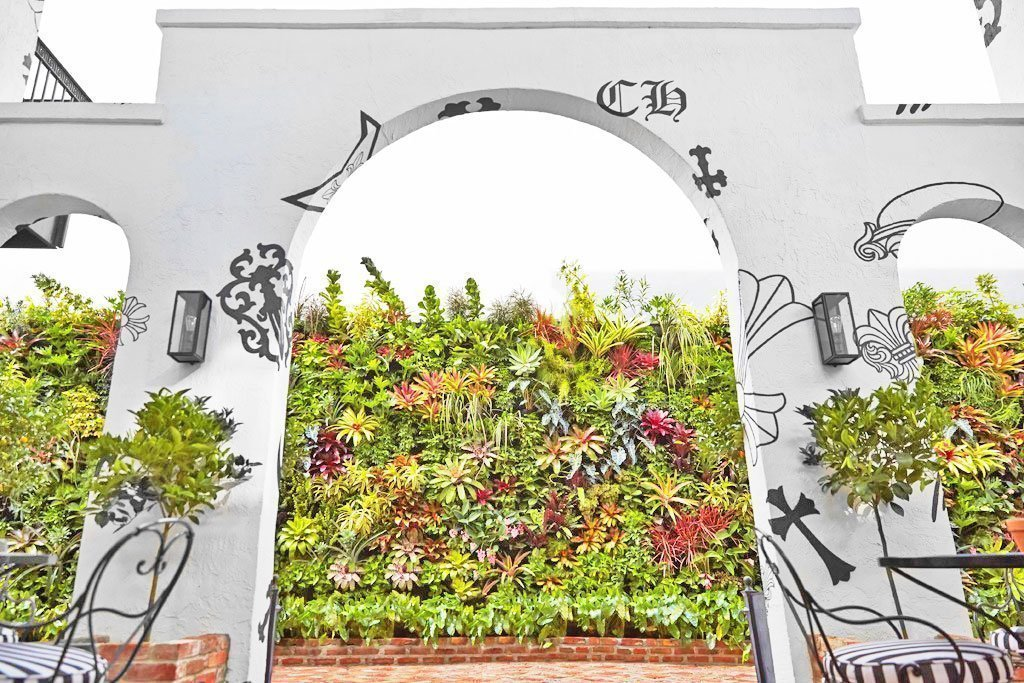 Jeff Allis, Tru Vine Design. Chrome Hearts Miami. Florafelt Vertical Garden.