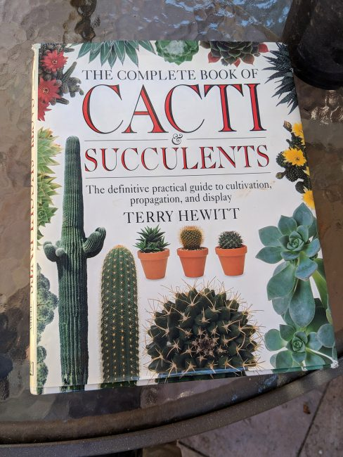 Complete Book of Cacti by Terry Hewitt