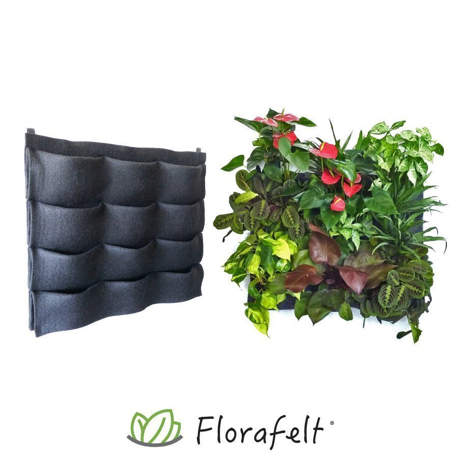 Florafelt 12-Pocket Panel Living Wall System